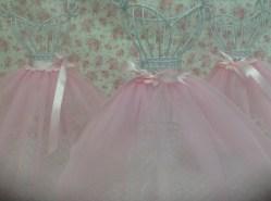 Tutu skirts on wire bodies