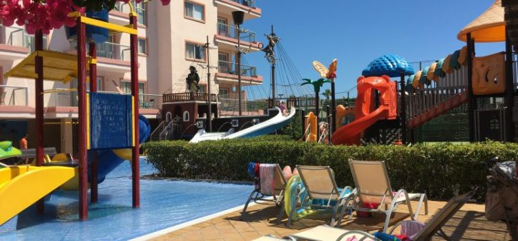 Buzymum - Children's splash and play area at Viva Sunrise