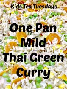 Buzymum - One Pan Mild Thai Green Curry