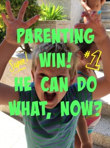 Buzymum - Parenting Win! He Can Do What, Now?