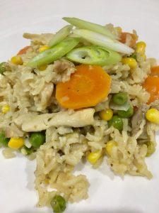 Buzymum - One pot thai green chicken curry