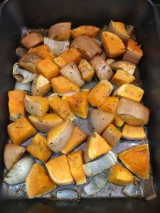 Buzymum - Squash and onion roasted with olive oil and herbs