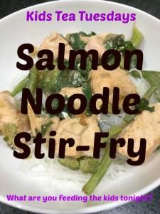 Buzymum - Salmon noodle stir-fry