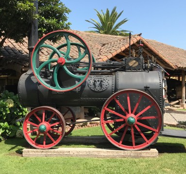Buzymum - One of many steam trains and other locomotives