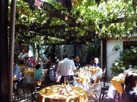 Buzymum - Beautiful restaurant setting in Santa Cruz