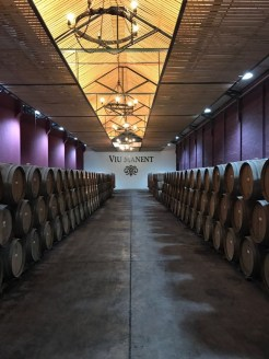 Buzymum - Barrels containing 800,000 bottles of wine!