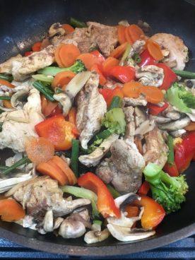 Buzymum - Chinese chicken ready to serve