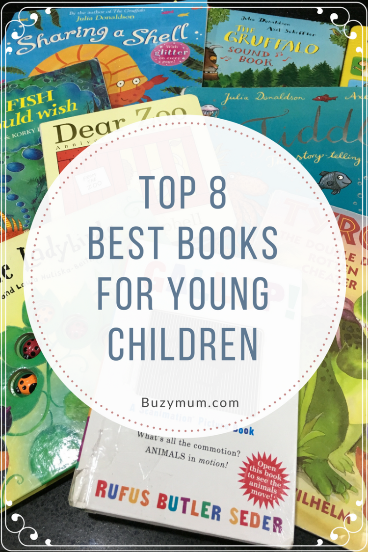Buzymum - Our top 8 favourite children's books from when they were toddlers that they still love now.