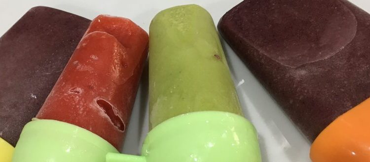 Buzymum - Smoothie ice pops are a low sugar treat