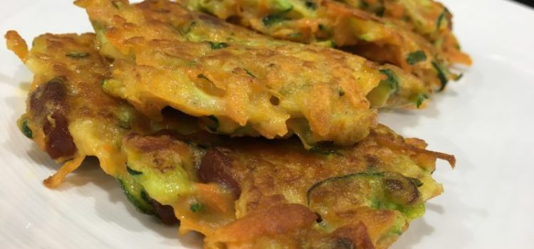 Sweet Potato & Chorizo Fritters