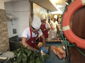 Buzymum - Chefs preparing the evening meals