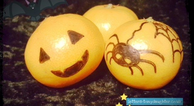 5 Simple Halloween Treats (not Sweets!) for Busy Parents