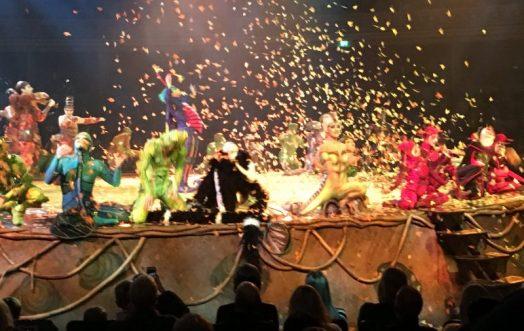 Buzymum - Finale of Cirque de Soleil Ovo
