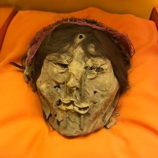 Buzymum - A preserved human face