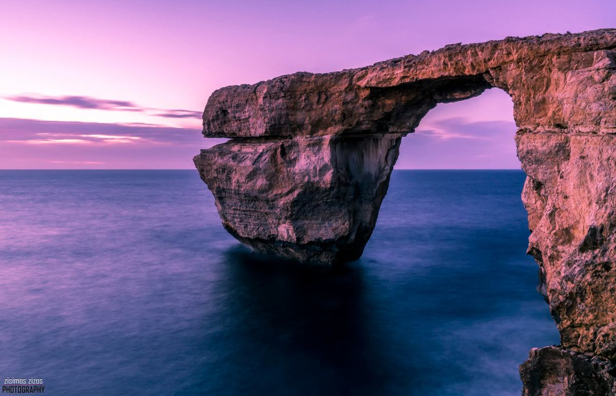Azure Window Image Source: Flickr/Zisimos Zizos