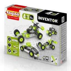 ENGINO – Inventor Cars 4 Models - Price: €12.00