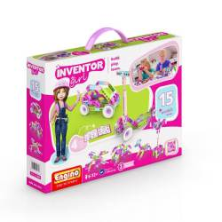 ENGINO – Inventor Girls 15 Models - Price: €29:00