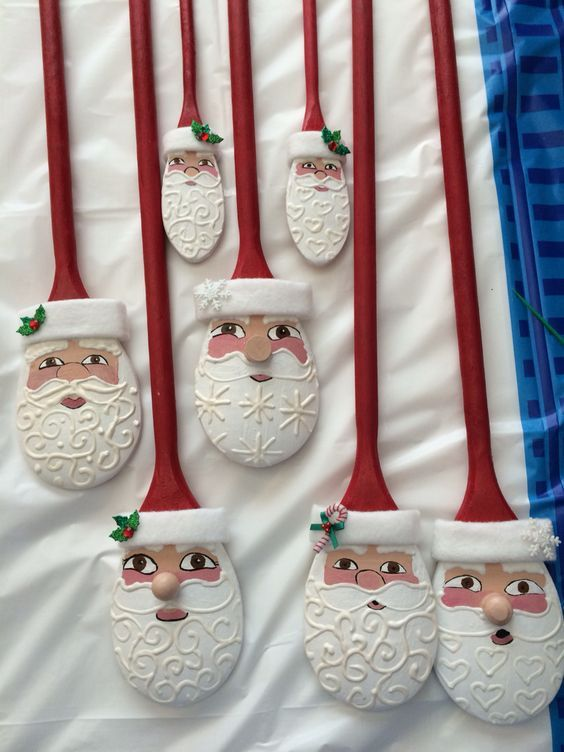 Christmas decor Santa head