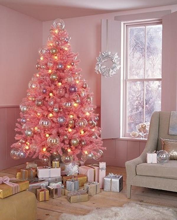 Pink Christmas Decor Ideas