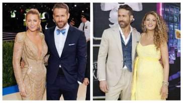 Ryan Reynolds and Blake celebrity couples