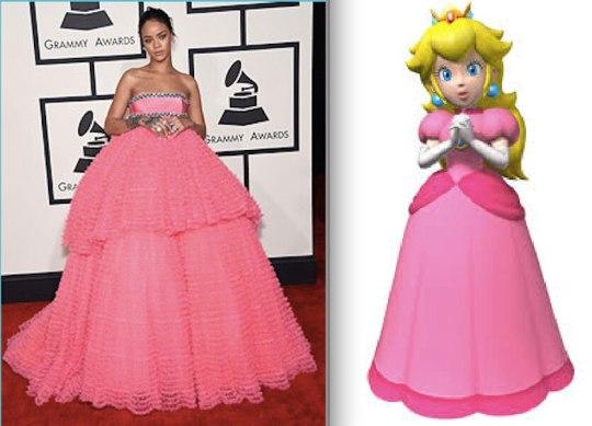 Rihanna Celebrity Cosplay