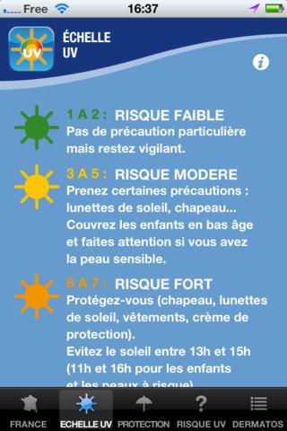 SoleilRisk : application de prévention sur les dangers du soleil