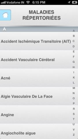 DocNow : application mobile pour analyser ses symptômes