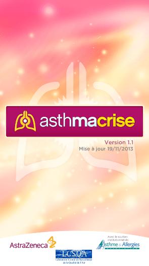 AsthmaCrise : application mobile pour patients asthmatiques