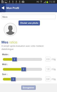 Mon Glucocompteur : application mobile pour patient diabétique