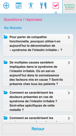 TiFanIe : application pour les patients atteints de troubles fonctionnels intestinaux