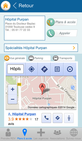 Le CHU de Toulouse lance son application mobile