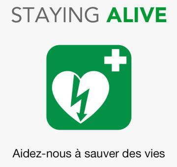 Application Staying Alive pour sauver des vies