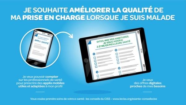 CISS et e-santé : prise en charge
