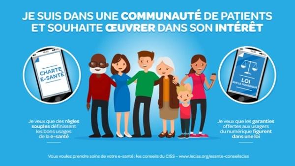CISS et e-santé : communauté de patients