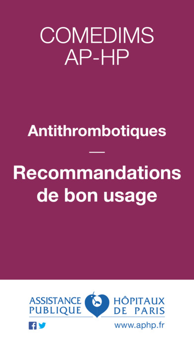 AP-HP lance l'application Reco Thromboses