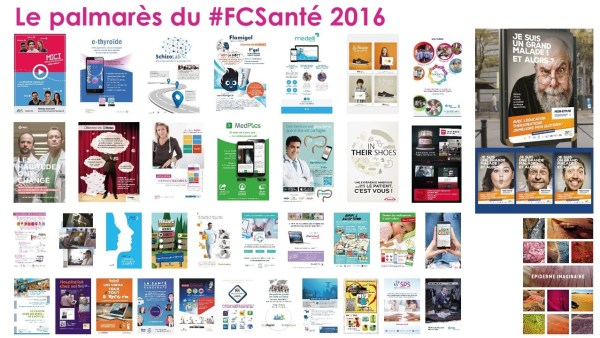 Palmarès 2016 du Festival de la Communication Santé