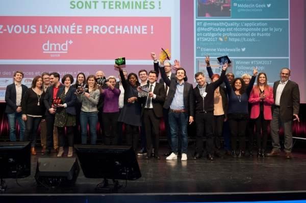 Palmarès des Trophées de la santé mobile 2017