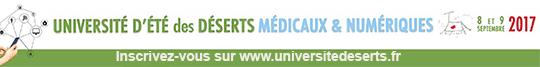 Université d'été des Déserts Médicaux et Numériques