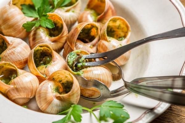 Bamyanın Sümüğüne Bile Katlanamayan İnsanları Şok Eden Bir Fransız Yemeği: Salyangoz