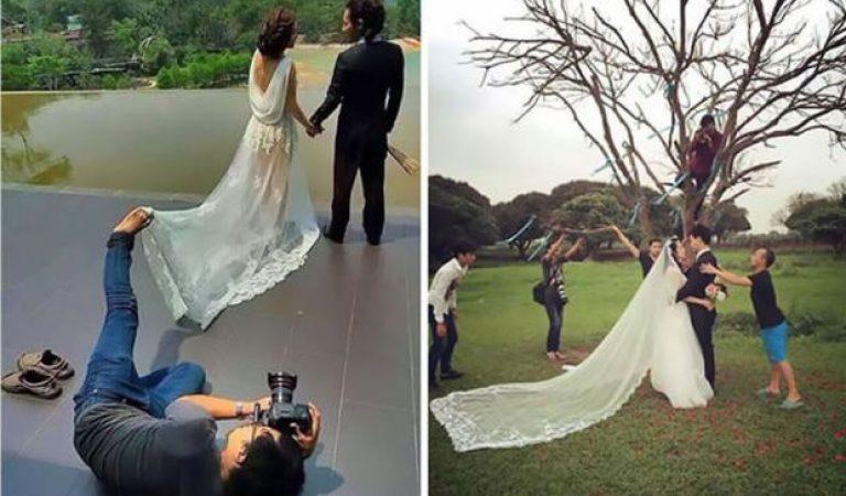 Düğün Fotoğrafı Çekerken Çile De Çeken 22 Fotoğrafçının Komik Halleri