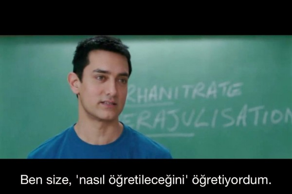 Aamir Khan 3 Aptal Öğrenmek