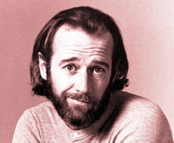 "In this 1975 photo originally released by NBC, comedian George Carlin is shown in a promotional photo for NBC's ""Saturday Night Live."" Carlin, 71, whose staunch defense of free speech in his most famous routine ""Seven Words You Can Never Say On Television"" led to a key Supreme Court ruling on obscenity, died Sunday June 22, 2008. He went into St. John's Health Center in Santa Monica on Sunday complaining of chest pain and died later that evening, said his publicist, Jeff Abraham. Carlin served as host of the ""Saturday Night Live"" debut in 1975. (AP Photo/NBC) ** NO SALES ** ORG XMIT: NYET159"