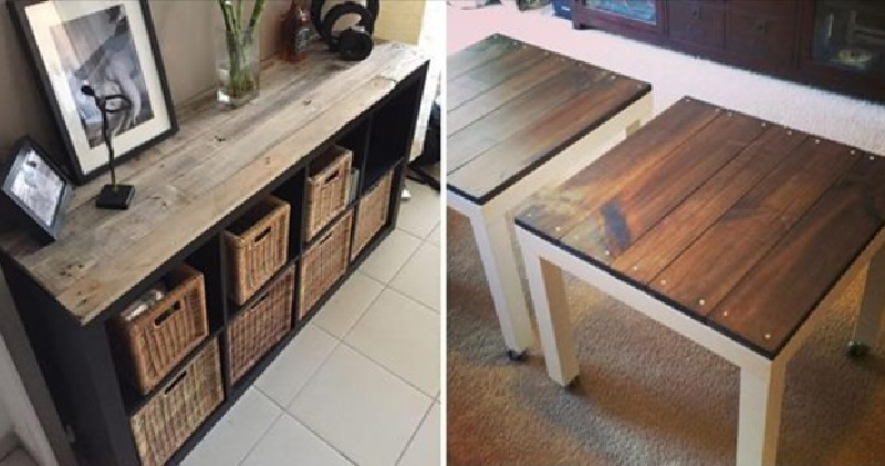 relookez un vieux meuble ikea avec du