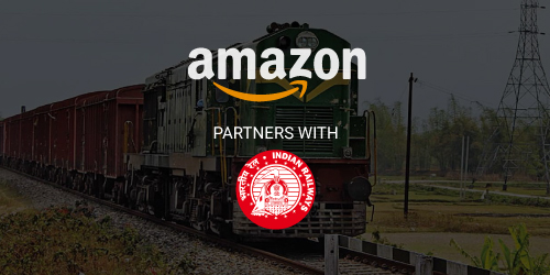 Amazon Partners with Indian Railways for Faster Deliveries