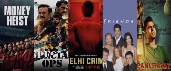 Top 5 TV Series to Stream this Quarantine