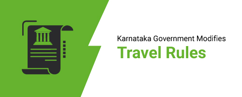 Karnataka Government Modifies Travel Rules to Handle Increasing COVID-19 Cases