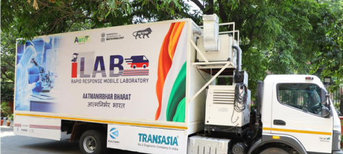 First Mobile Lab For COVID-19 Testing Launched in India