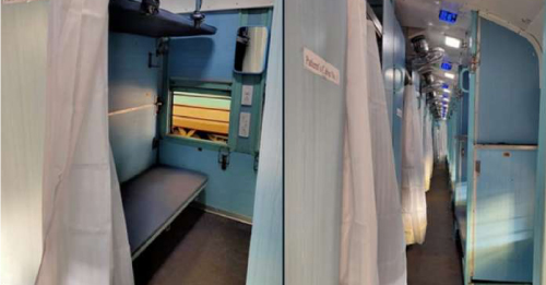 Railways to Insulate Roof in Deployed Isolation Coaches