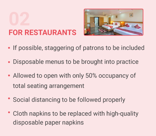 For Restaurants