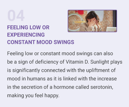 Feeling Low or Experiencing Constant Mood Swings